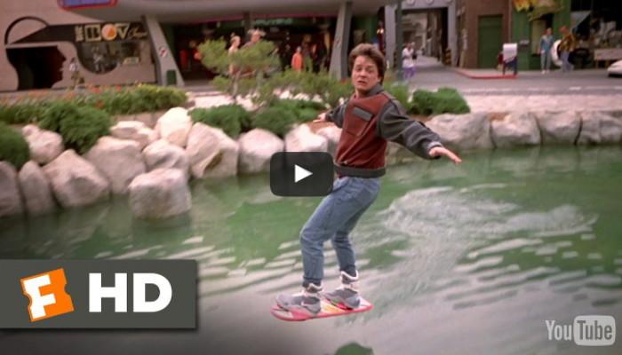 hoverboard ritorno al futuro