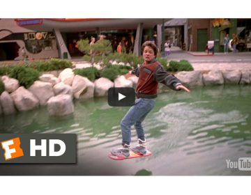 video hoverboard ritorno al futuro