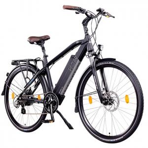 Bici elettrica a pedalata assistita NCM Venice. E-city bike ed E-trekking bike
