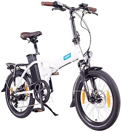 Bici elettrica pieghevole NCM London.