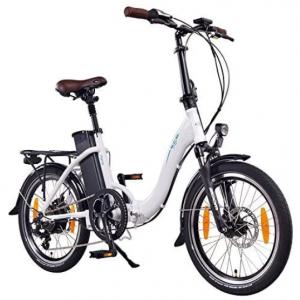 Bici elettrica pieghevole NCM Paris