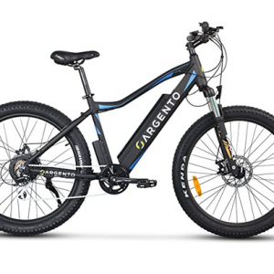 Mountain Bike elettrica Fat Argento Performance.