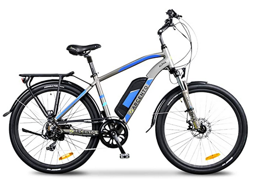 Bici elettrica Argento Alpha City E-Bike