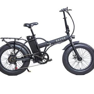Fat Folding E-bike Revoe Dirt Vtc 553503. Bici elettrica pieghevole a pedalata assistita